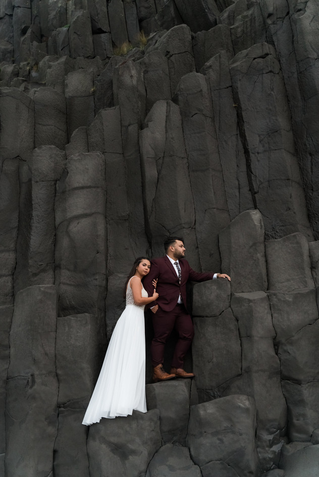 Elopement in Iceland // Destination photographers from Puerto Rico