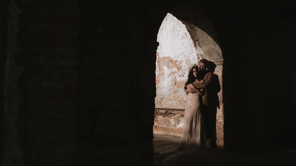Eclectic elopement in San Juan Puerto Rico