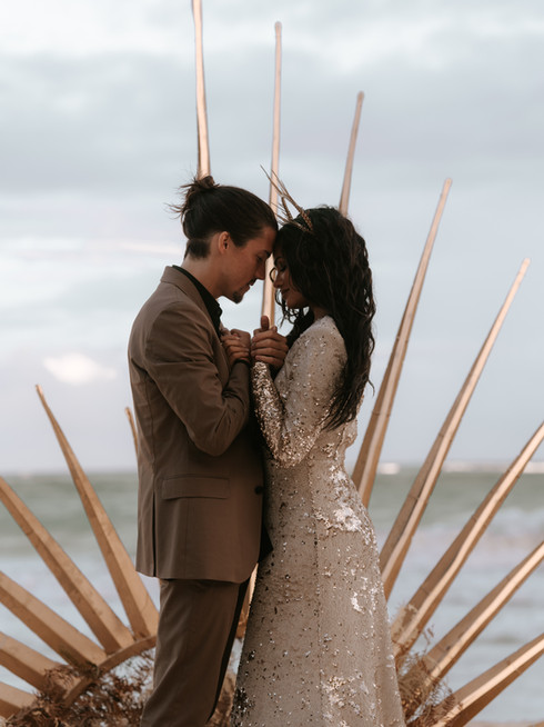 Magical Elopement in Tulum, Mexico // Celestial