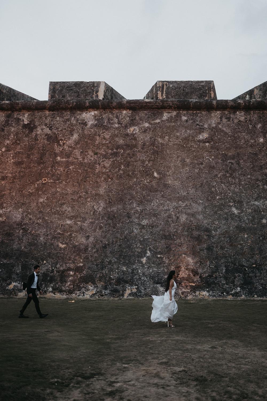 Adventure Elopement Photography Fort San Juan Puerto Rico