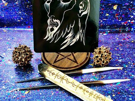 The Hermit - White Witch Tarot - 12-2-2020