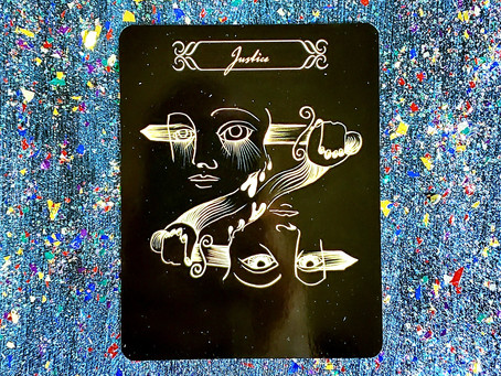Justice - White Witch Tarot - 12-1-2020