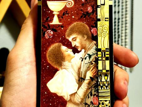 Harmony - Ace of Chalices - Klimt Tarot 2-15-2021