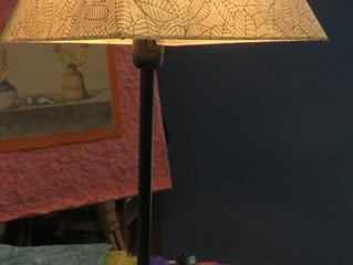 Idea 6# Lámpara de papel fantasía de Nepal