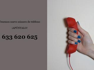 Estrenamos número de teléfono nuevo