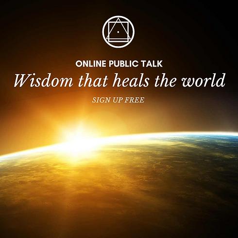Wisdom that heals the World - Americas/Europe/Africa