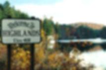 Entance to Highlands, Lake Sequoyah dam