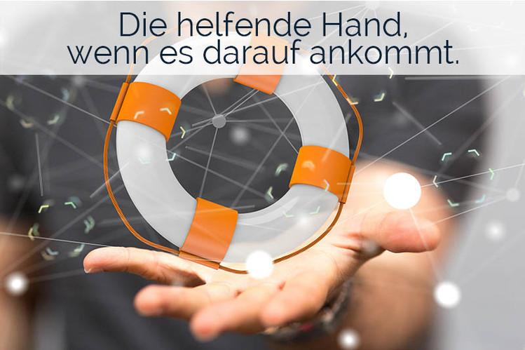 Die helfende Hand im Arbeitsschutz für Sie.