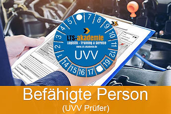 UVV-Prüfer Lehrgang