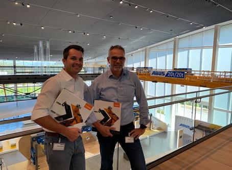 Ausbilder Krane bei ABUS in Gummersbach für Krantechnik Süd-West GmbH