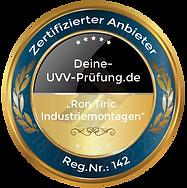 Deine-UVV-Pruefung - Tiric Industriemontagen