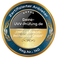 UVV Prüfung Omega Elektro-Prüfservice