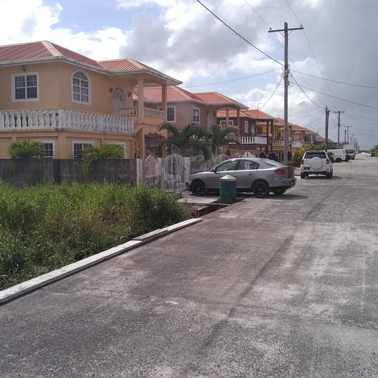 roads and sidewalks