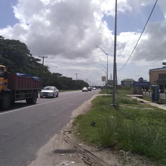 west bank public road near the bridge