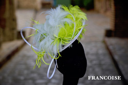 FRANCOISE en blanc & vert