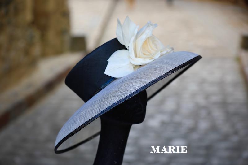 MARIE en noir & ivoire