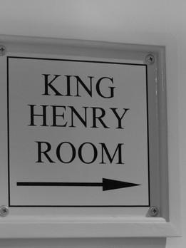 KING HENRY ROOM
