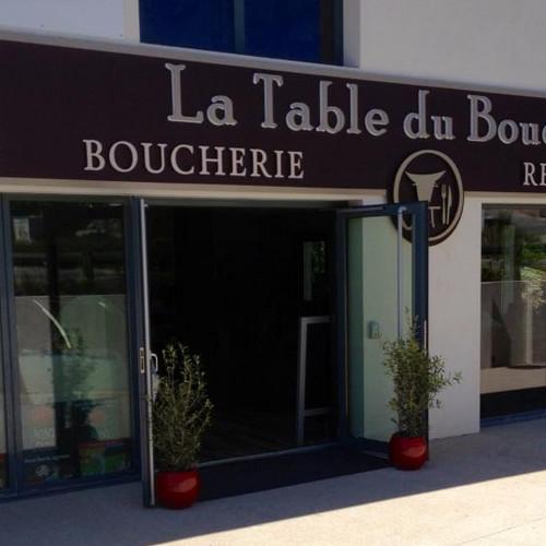 Enseigne lettre lumineuses Aix en Provence
