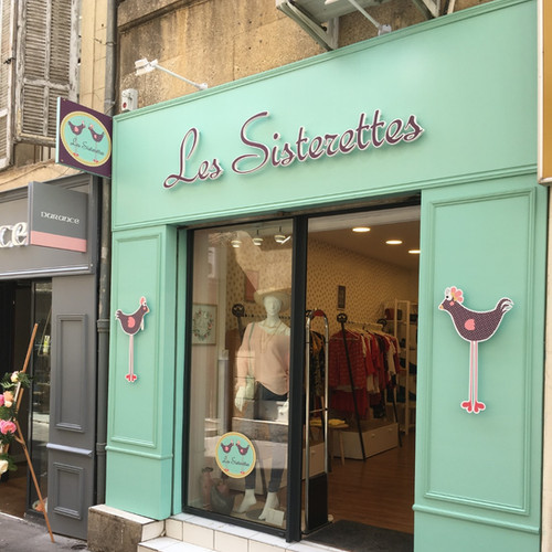 devanture de magasin Aix en Provence