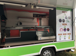 Total Covering camion Pizza