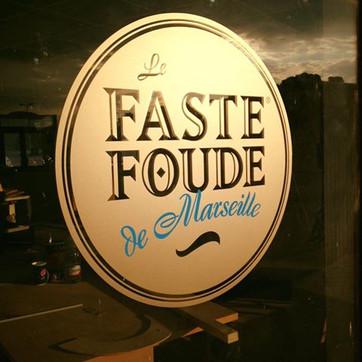 décoration de vitrine magasin Aix en Provence