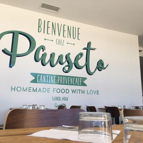 décoration murale restaurant Aix en Provence