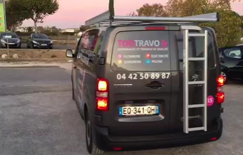 flocage camion aix Aix en Provence