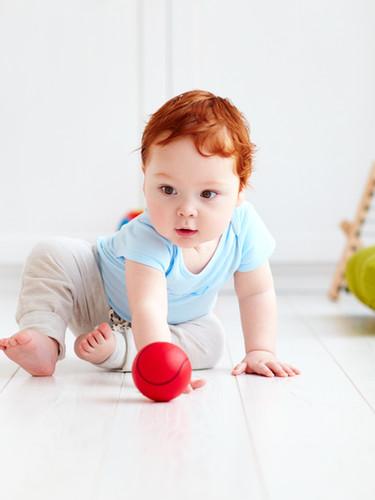 赤毛の赤ちゃん