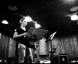 Ania - sesja wokalowa do Nocy