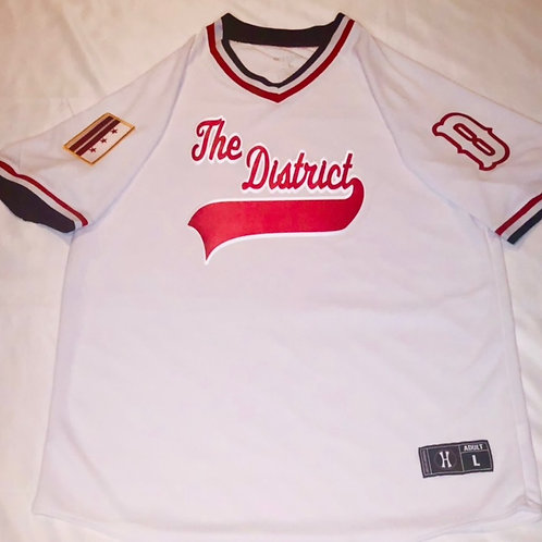 The District Baseball Jersey