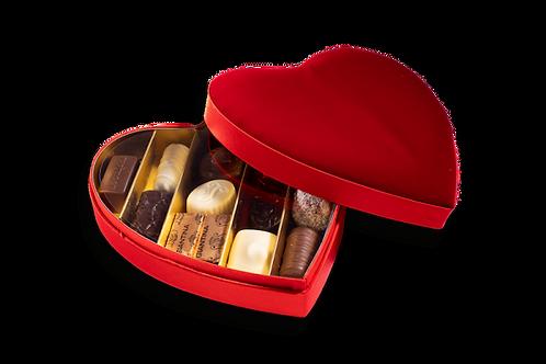 Coeur Velours 12 Chocolats