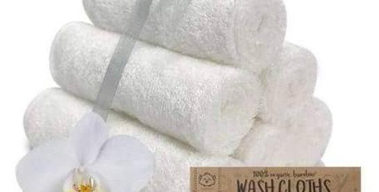 Bamboo Washcloth - White