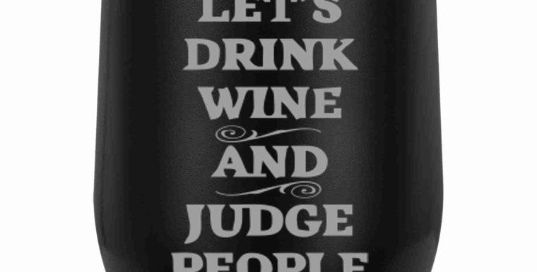 12 oz. Wine Tumblers