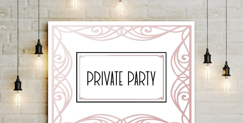 Private Event Booking Deposit