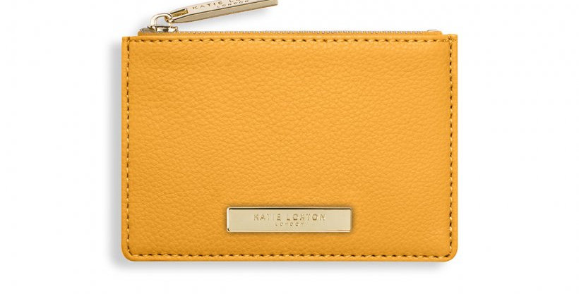 Alise Card Holder -Ochre