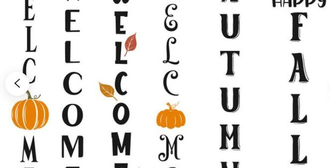 Fall Porch Sign Workshop ONLY 4 SPOTS AVAIL.