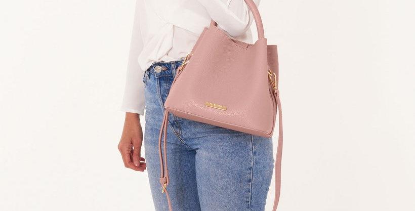 Sienna Slouch Crossbody Bag - Pink