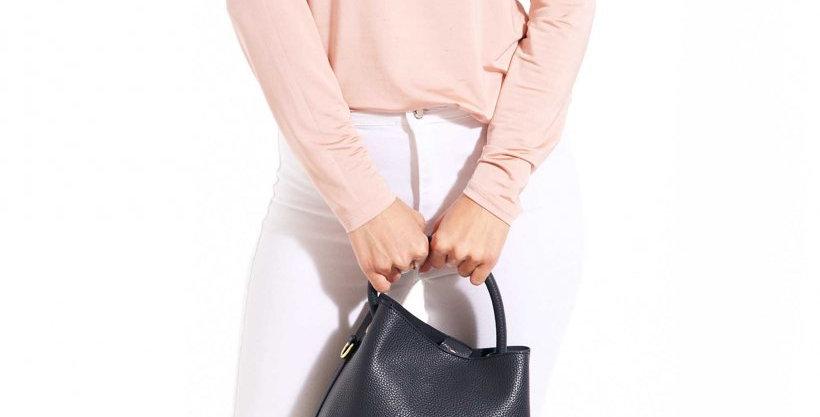 Sienna Slouch Crossbody Bag - Navy