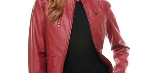 Leather-style Jacket