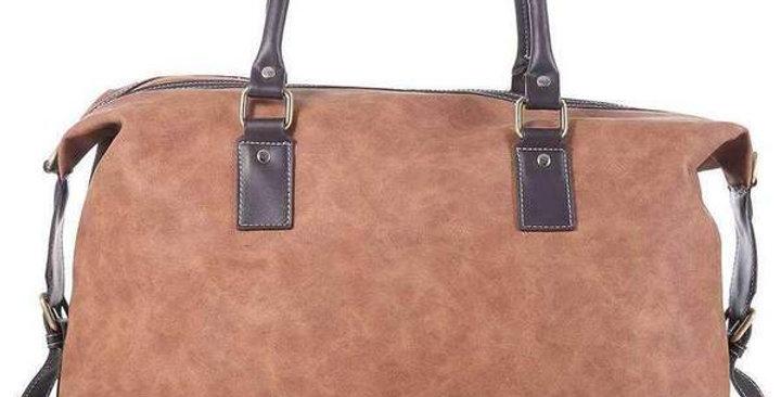 Camel Large Traveler Bag
