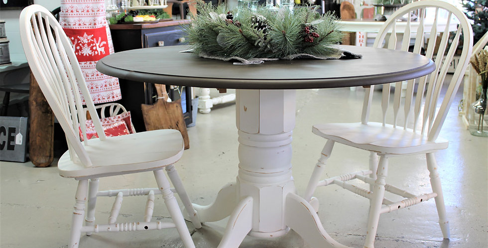 """42"""" Drop Leaf Table with 2 Chairs"""