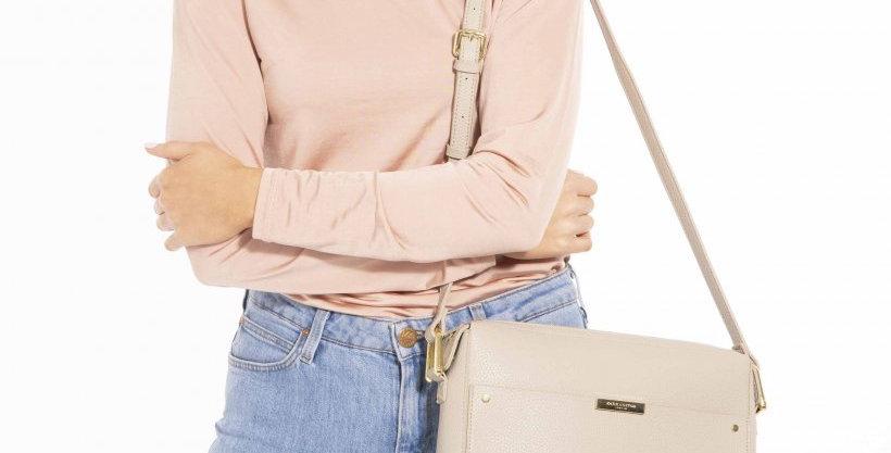Klara Crossbody Bag - Warm Grey