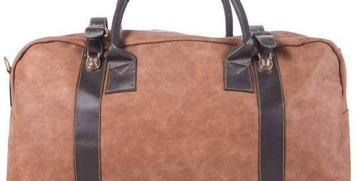 Camel Large Duffel Bag