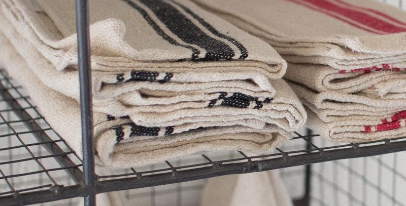 Black Stripe Kitchen Towel