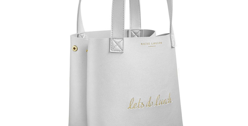 Luxury Lunch Bag - 'Let's Do Lunch'
