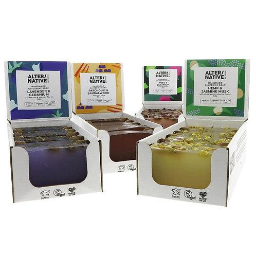 Alter/Native Vegetable Glycerine Soap - Block