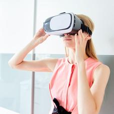 VR端末で