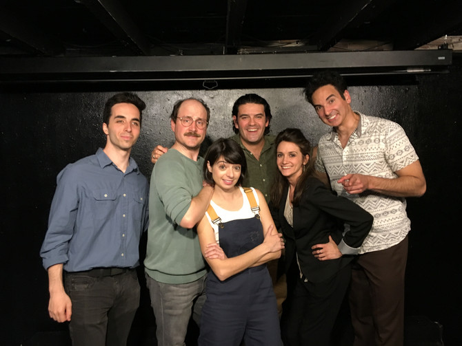 Seinfeld and Worked with Kate Micucci Today!