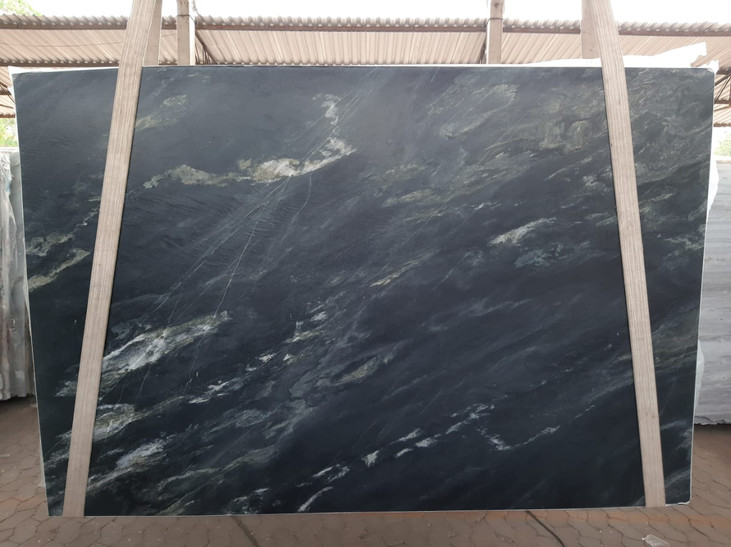 3cm Leather Black Sea Quartzite
