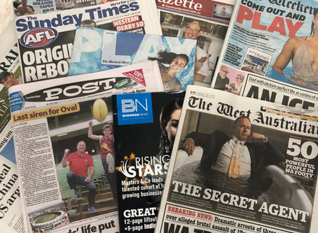 HOW TO MAXIMISE COVERAGE IN TODAY'S SHRINKING WA MEDIA LANDSCAPE
